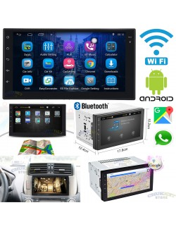 "AUTORADIO STEREO ANDROID 3G WiFi 7"" POLLICI GPS NAVIGATORE AUTO 2DIN BLUETOOTH TOUCH SCREEN USB MP3 MP5"