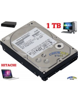 "HARD DISK INTERNO 3,5"" 1TB 1000 GB SATA HITACHI PER PC DVR NVR VIDEOSORVEGLIANZA HDD HD"