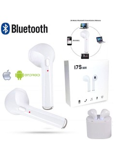 COPPIA AURICOLARI BLUETOOTH CUFFIE WIRELESS MICROFONO PER SAMSUNG HUAWEI IPHONE WIFI