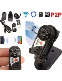 MINI TELECAMERA WIFI Q7 HD MOTION DETECT SLOT MICRO SD SPIONAGGIO MICRO CAMERA CAM IOS ANDROID SPIA