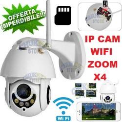 TELECAMERA DOME MINI HIGH SPEED IP66 VIDEOSORVEGLIANZA LED SONY CCD IR CAMERA