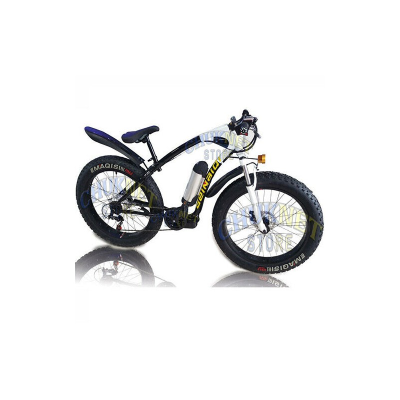 Fat Bike Bici Elettrica Pedalata Assistita 250w 36v Batteria Al Litio