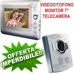 VIDEOCITOFONO CAMPANELLO WIRELESS WIFI SMARTPHONE ANDROID IOS LED