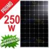 PANNELLO 250W ENERGIA SOLARE FOTOVOLTAICO MONOCRISTALLINO IMPIANTO CASA BAITA CAMPER