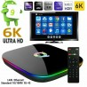 SMART TV BOX Q-PLUS ANDROID 9.0 4GB RAM 64GB 6K WIFI IPTV