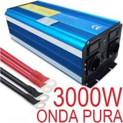 INVERTER 3000W ONDA PURA SOLARE FOTOVOLTAICO POWER CONVERTITORE 3KW