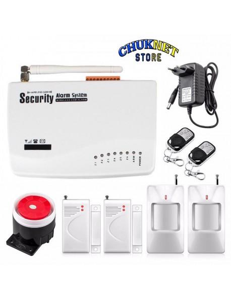 Antifurto allarme casa kit combinatore gsm wireless senza - Antifurto wifi casa ...